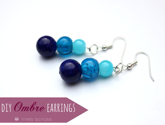 Easy Ombre Earrings