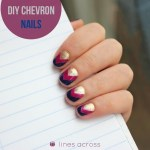 DIY Chevron Nails