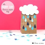 The Rainy Day Brown Paper Bag
