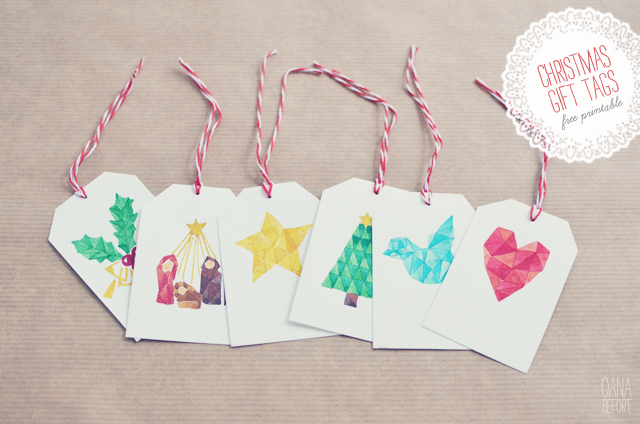 20 Gorgeous Sets of Free Printable Gift Tags