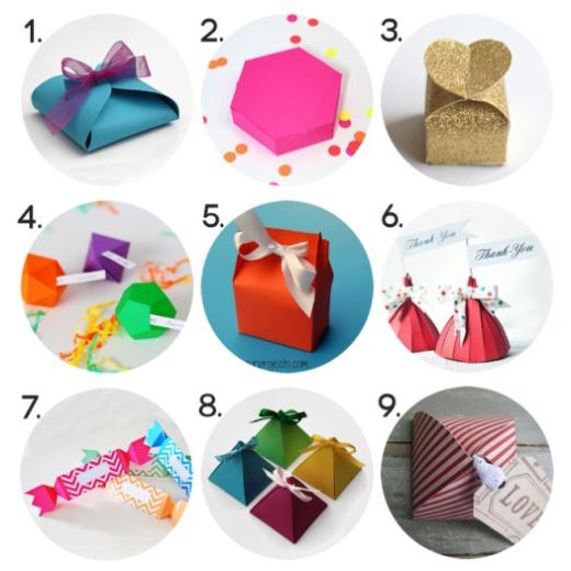 15 Paper Gift Box Templates