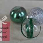Homemade Glittered Ornaments – Just Us Four