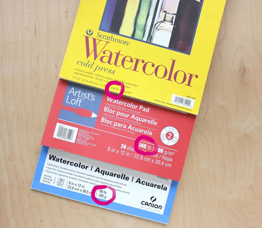 What kind of watercolor paper do I need?