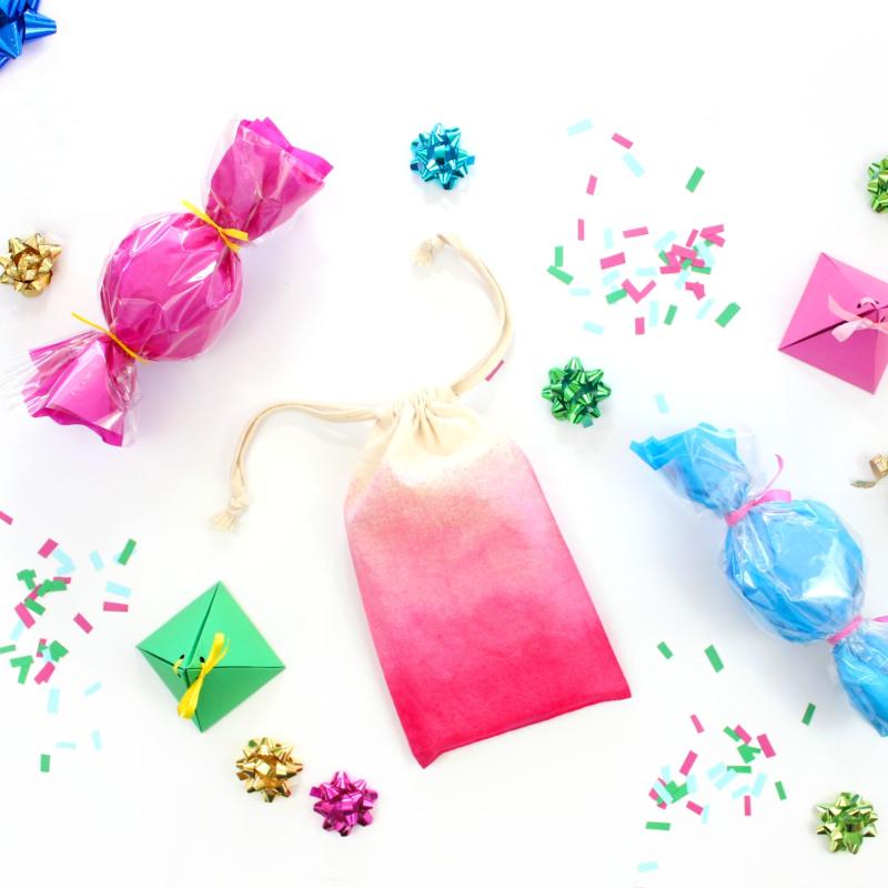 Three Ways to Wrap Small Presents