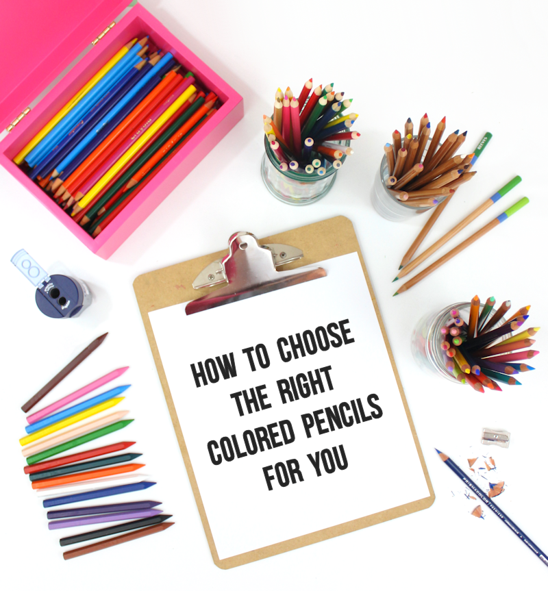 How to choose the right colored pencils for you