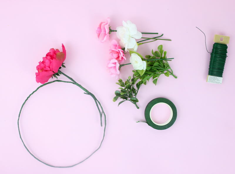 how to use floral tape and wire