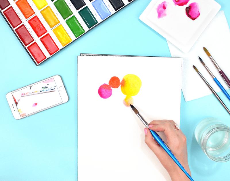 Creativebug Watercolors