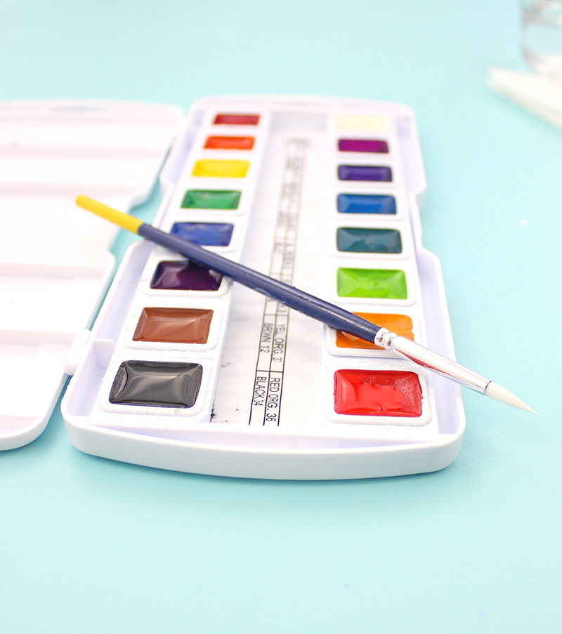 Prang Watercolor Set