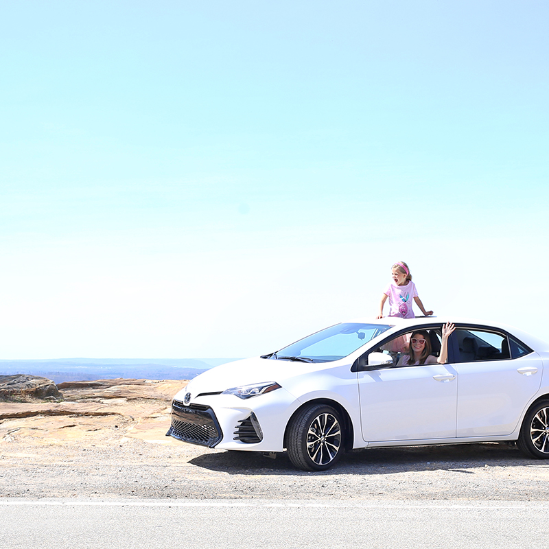 our adventure with toyota corolla