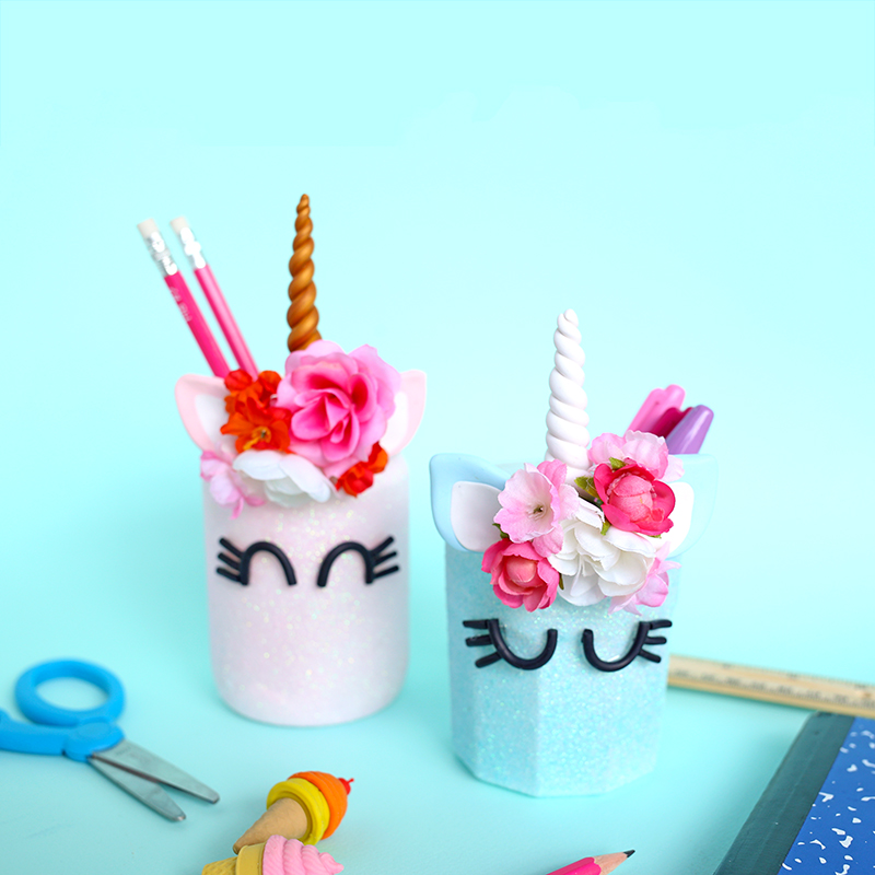 Unicorn Mason Jars