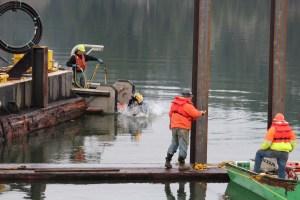 J. D. Fowler Bore Into Columbia River (6)