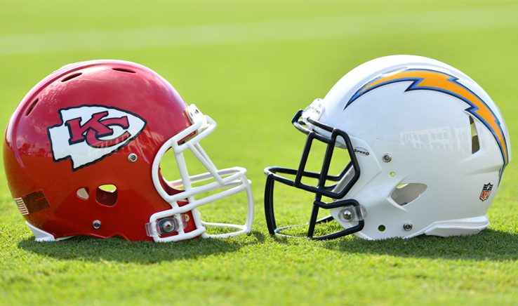 Los Angeles Chargers vs Kansas City Chiefs 12/13/18 Matchup