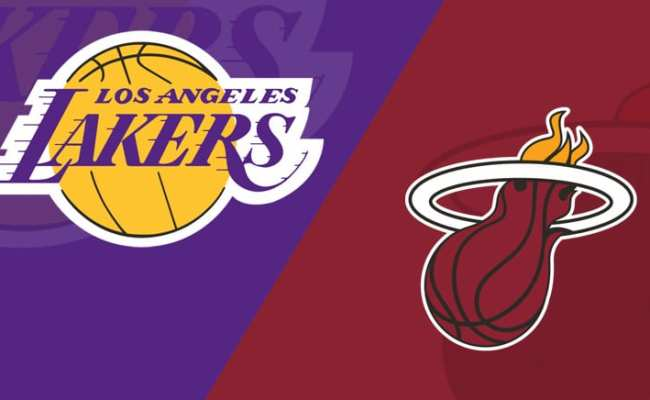 Miami Heat At Los Angeles Lakers 11 8 19 Starting Lineups Matchup Preview Daily Fantasy