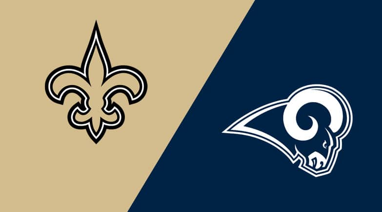 Los Angeles Rams at New Orleans Saints Matchup Preview - Lineups