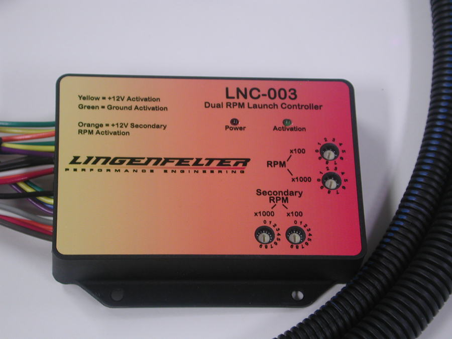 Lingenfelter Adjustable Launch Controller RPM Limiter 2 Step LSx Apps