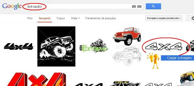 4x4 vector google search results