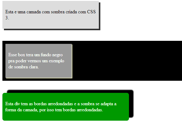 Entendendo O Atributo Box Shadow Nas Css3
