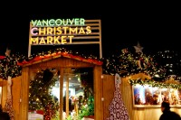 Good Eats at the Vancouver Christmas Market.  Link Magazine