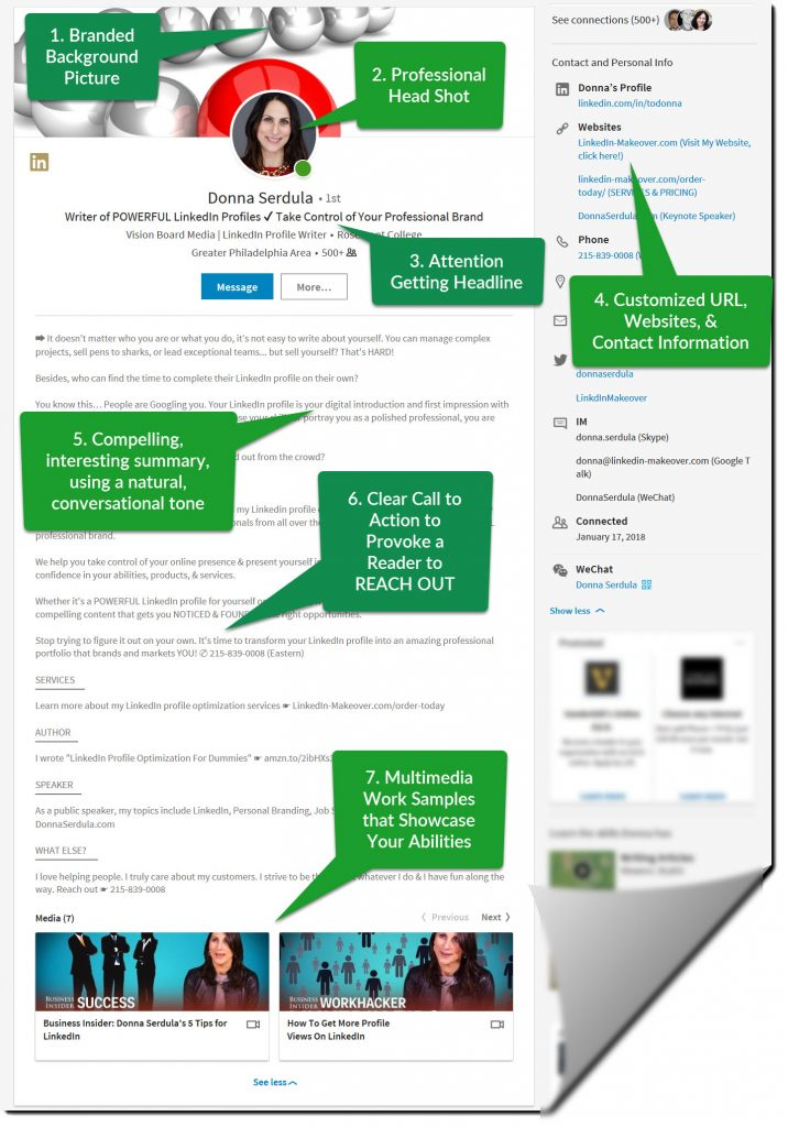 LinkedIn Profile Tips What the Best LinkedIn Profiles Look Like