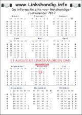 Download De Linkshandigen Kalender