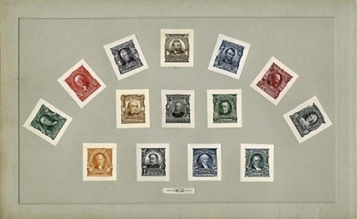 Most Roosevelt small die proof albums of 1903 have been broken up