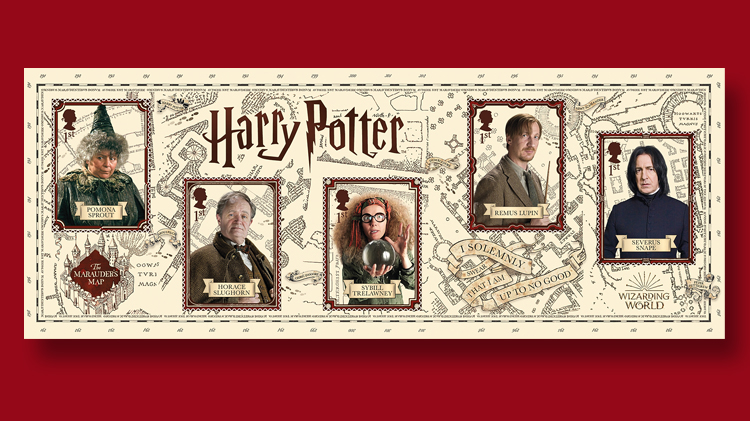 Britain Adds A Touch Of Magic To Harry Potter Stamps