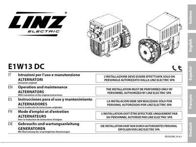 Manuals - Linz Electric