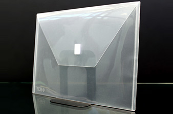 Design R Line Poly Envelopes Colored Or Clear Velcro