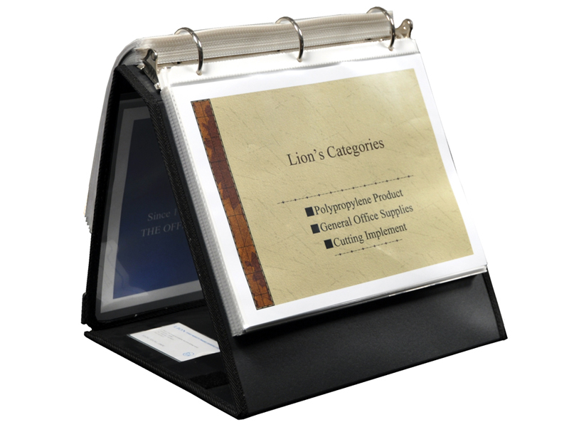 presentation ring binder easel 1 1 2 inch ring avery heavy duty