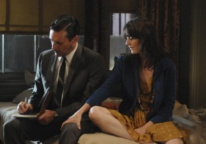 Mad Men Don and Midge Episode 4.12
