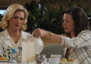 Mad Men Tea Leaves Betty at Lunch