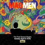 Mad Men Season 7 Poster--Don't bother, they're here.