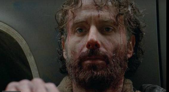 The Walking Dead-A-Rick Grimes bloodied
