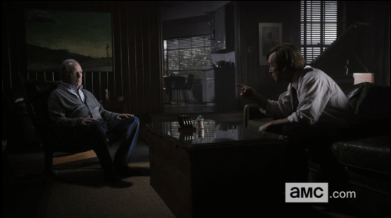 Better Call Saul, Pimento, Jimmy confronts Chuck