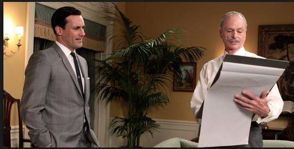 Conrad Hilton and Don Draper