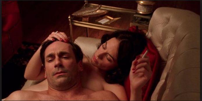 Rachel sleeps with Don