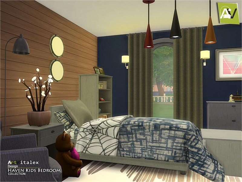 Haven Kids Bedroom By Artvitalex Liquid Sims