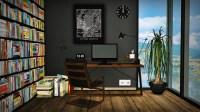 Mid Century Modern Workspace Conversion by MXIMS - Liquid Sims