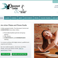 Movement Center and Gyrotonic Ann Arbor