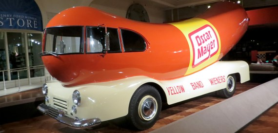 Oscar Mayer Wienermobile at Henry Ford Museum
