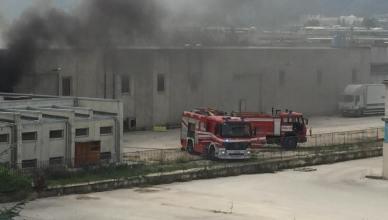 incendio nucleo industriale
