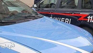 Roma, 19 marzo 2009. Via Volturno: polizia davanti al palazzo dove è stata trovata una donna legata e incappucciata con una cintura esplosiva.