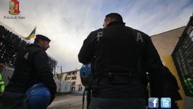 POLIZIA STADIO FROSINONE
