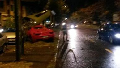 Incidente stradale per calciatore Caceres, patente ritirata