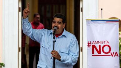 Demonstration against Amnesty Law in Venezuela
