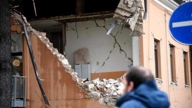 Center Italy quake