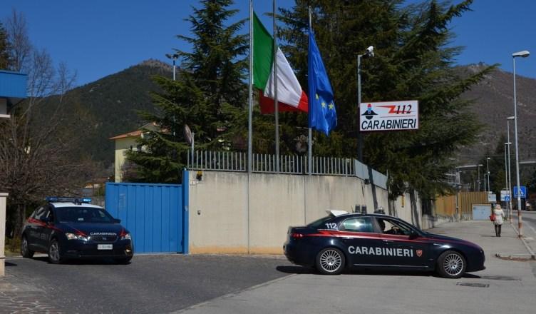 carabinieri-laquila-2018-minacce-al-sindaco