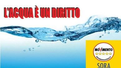 Acqua diritto m5s sora