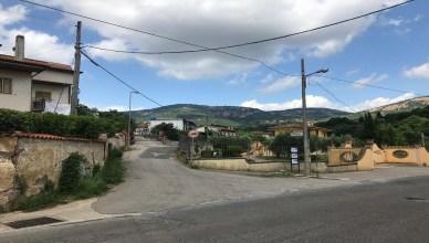 Imbocco Contrada Macchiarella Giulianello