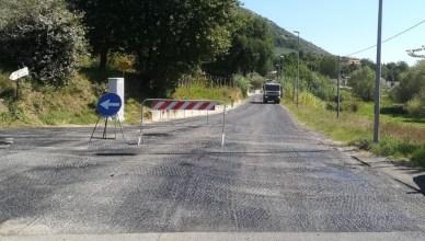 fogna asfalto Ponticello boville